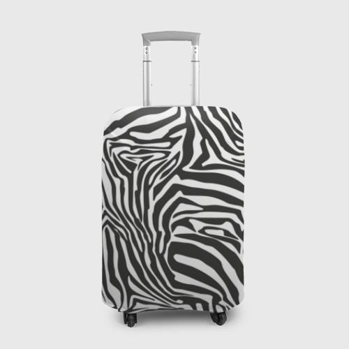 Чехол для чемодана 3D Полосы зебры Фото 01