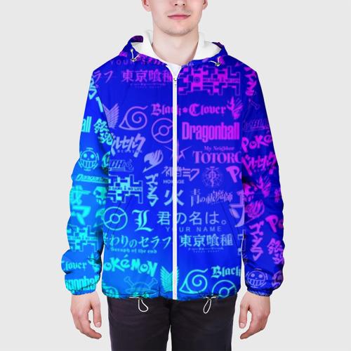 Мужская куртка 3D ЛОГО АНИМЕ МУЛЬТФИЛЬМОВ Фото 01