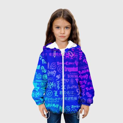 Детская куртка 3D ЛОГО АНИМЕ МУЛЬТФИЛЬМОВ Фото 01