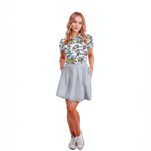 Женская рубашка поло 3D Sally Face Фото 01