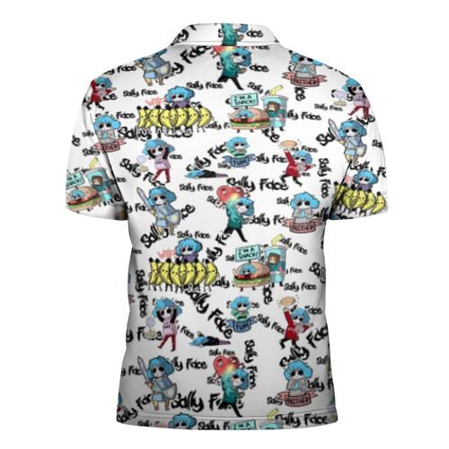 Мужская рубашка поло 3D Sally Face Фото 01