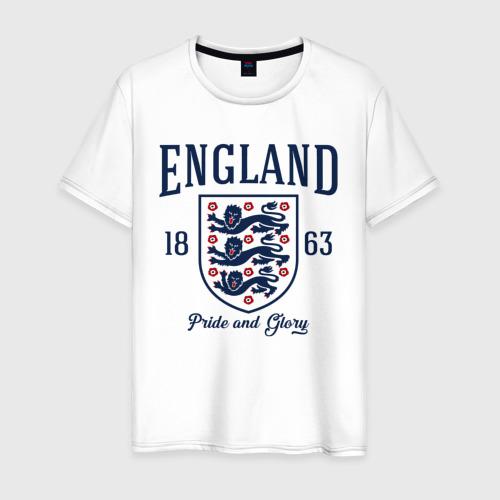 Мужская футболка хлопок Сборная Англии