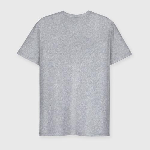 Мужская футболка хлопок Slim Пламя Фото 01