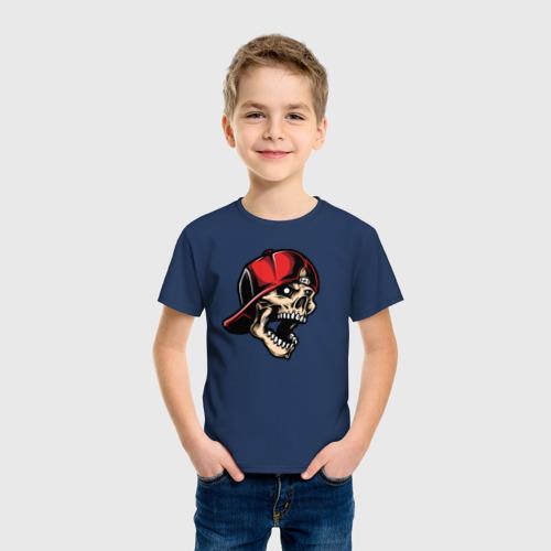 Детская футболка хлопок Skull Фото 01