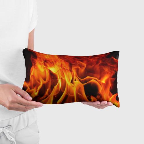 Подушка 3D антистресс Огонь и дым Фото 01