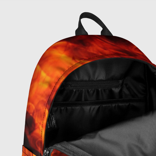 Рюкзак 3D Огонь и дым Фото 01