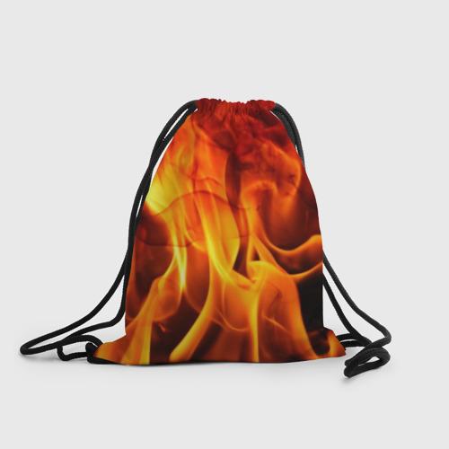 Рюкзак-мешок 3D Огонь и дым Фото 01