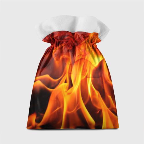 Подарочный 3D мешок Огонь и дым Фото 01