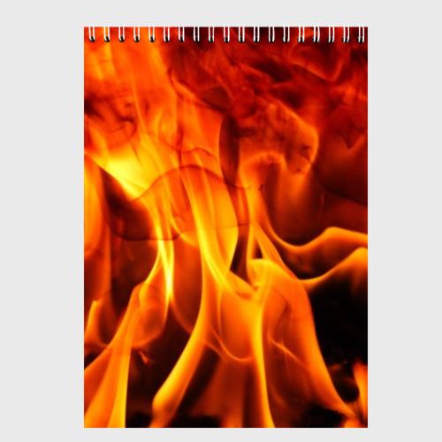 Скетчбук Огонь и дым Фото 01