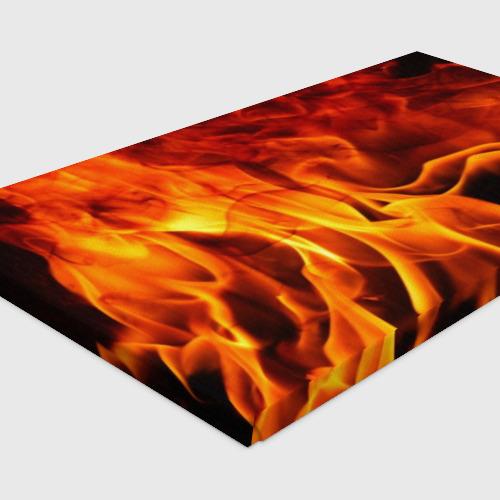 Холст прямоугольный Огонь и дым Фото 01