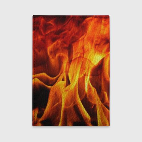 Обложка для автодокументов Огонь и дым Фото 01
