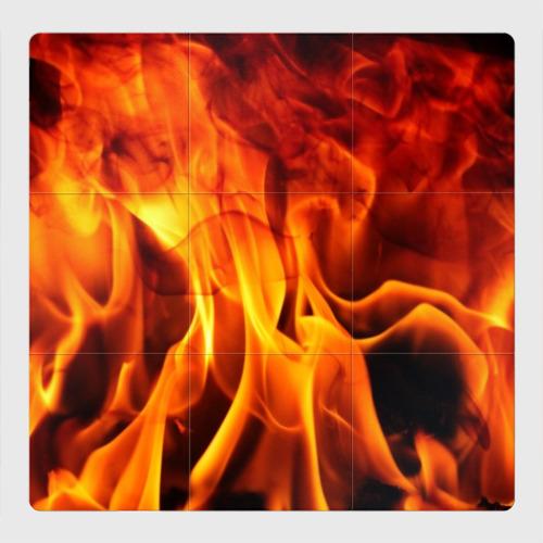Магнитный плакат 3Х3 Огонь и дым Фото 01