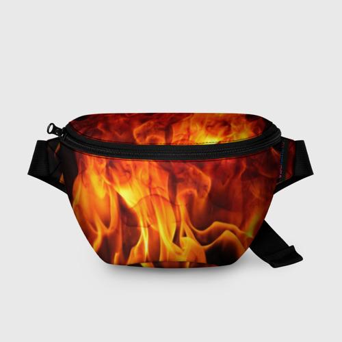 Поясная сумка 3D Огонь и дым Фото 01