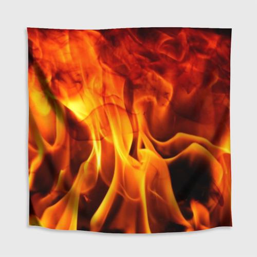 Скатерть 3D Огонь и дым Фото 01