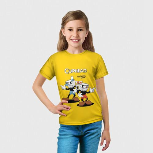 Детская футболка 3D Cuphead Фото 01
