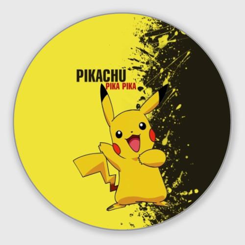 Коврик для мышки круглый Pikachu Pika Pika Фото 01