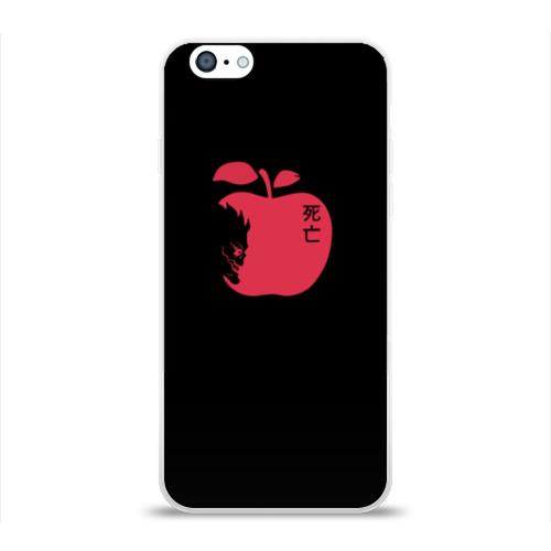 Чехол для Apple iPhone 6 силиконовый глянцевый Death Note Apple Фото 01