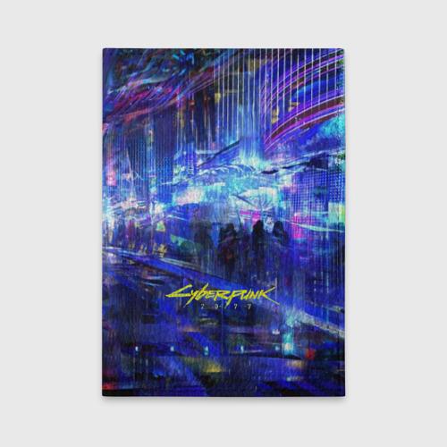 Обложка для автодокументов Cyberpunk 2077 Фото 01