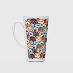 Пончики и кофе