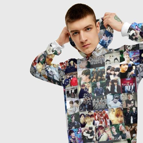 Мужская толстовка 3D BTS Collage Фото 01
