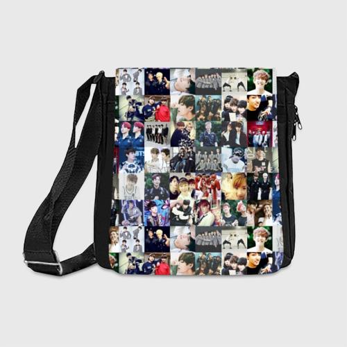 Сумка через плечо BTS Collage Фото 01