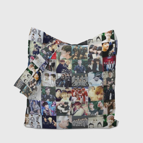 Сумка 3D повседневная BTS Collage Фото 01