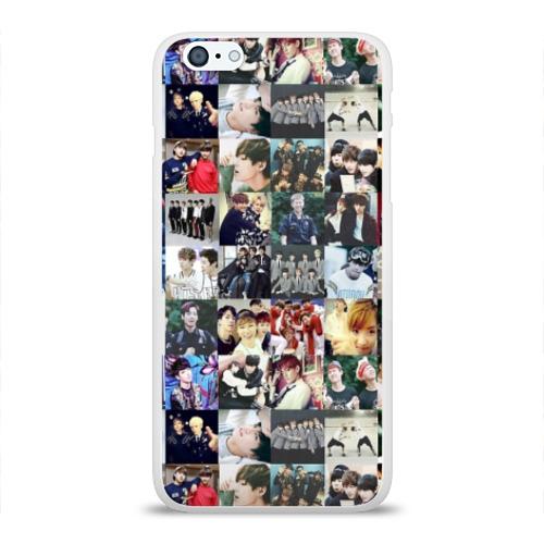 Чехол для iPhone 6/6S Plus глянцевый BTS Collage Фото 01