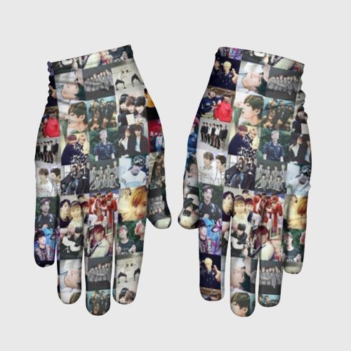 Перчатки 3D BTS Collage Фото 01