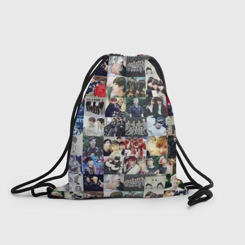Рюкзак-мешок 3D BTS Collage Фото 01