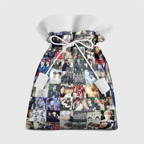Подарочный 3D мешок BTS Collage Фото 01
