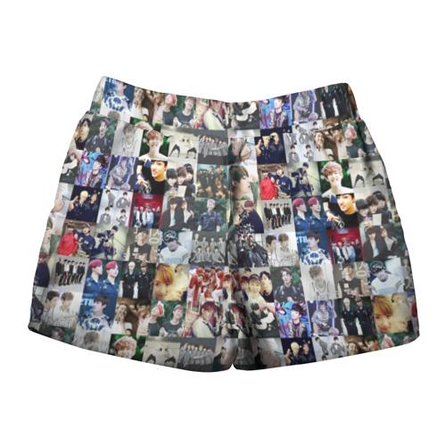 Женские шорты 3D BTS Collage Фото 01
