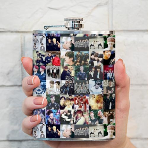 Фляга BTS Collage Фото 01