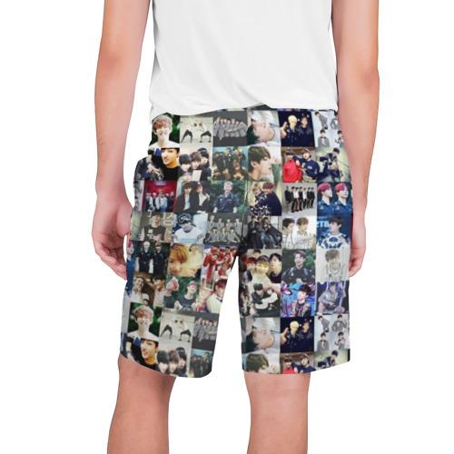 Мужские шорты 3D BTS Collage Фото 01