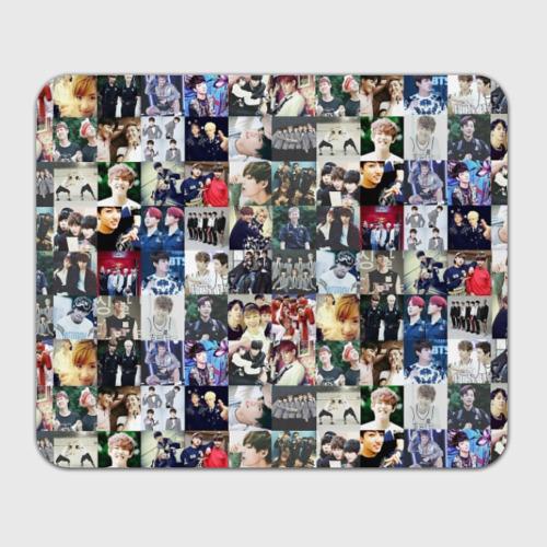 Коврик для мышки прямоугольный BTS Collage Фото 01