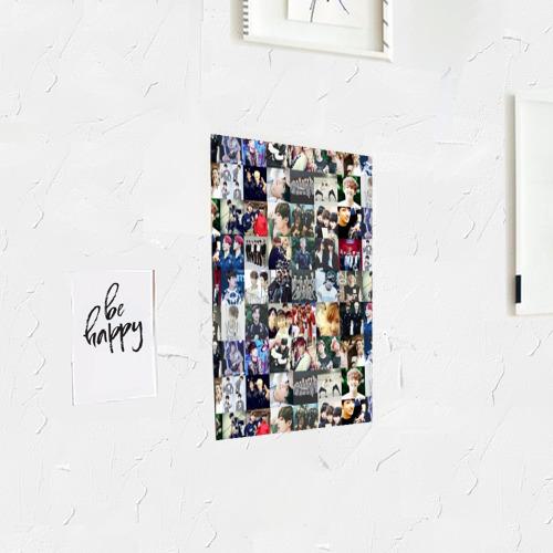 Постер BTS Collage Фото 01