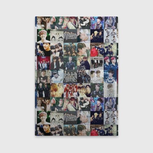 Обложка для автодокументов BTS Collage Фото 01