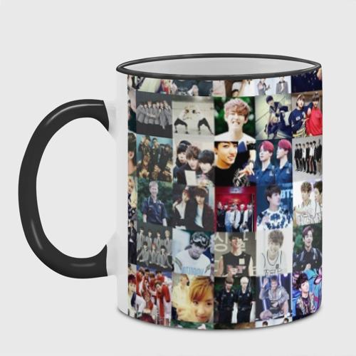 Кружка с полной запечаткой BTS Collage Фото 01