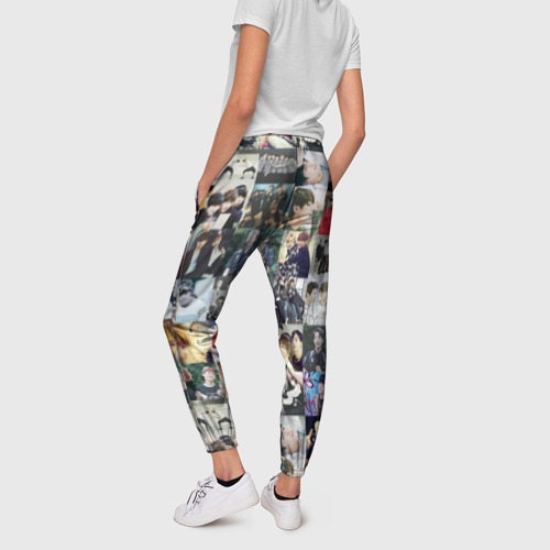 Женские брюки 3D BTS Collage Фото 01