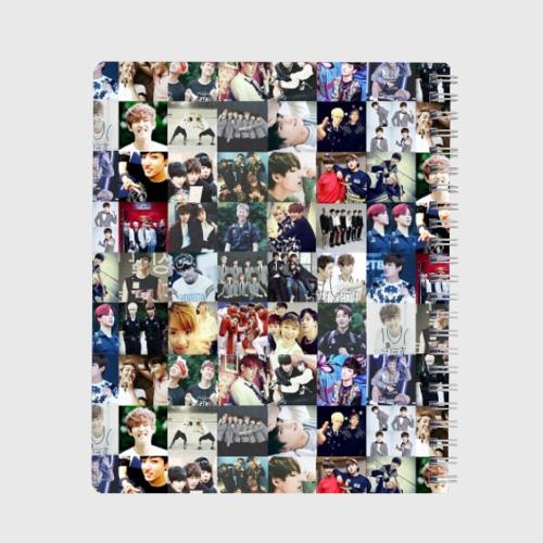 Тетрадь BTS Collage Фото 01