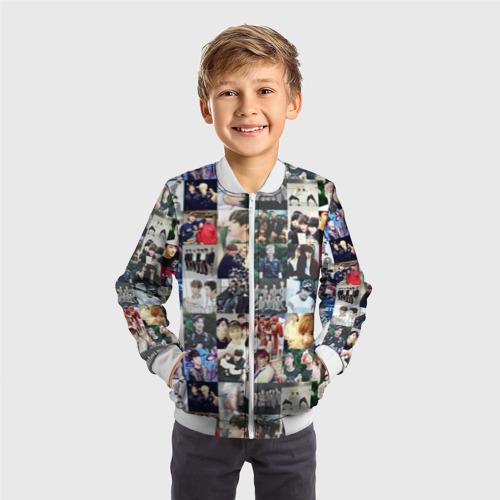Детский бомбер 3D BTS Collage Фото 01