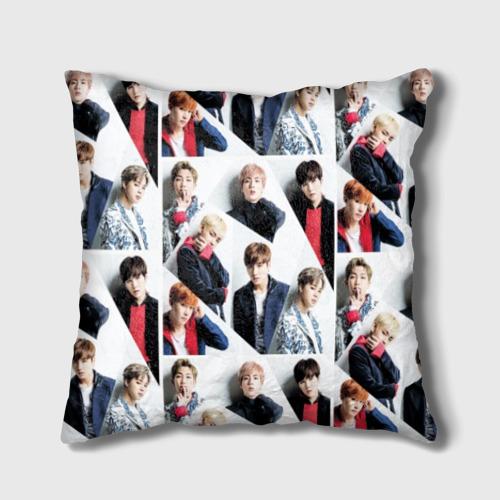 Подушка 3D BTS Collage Фото 01