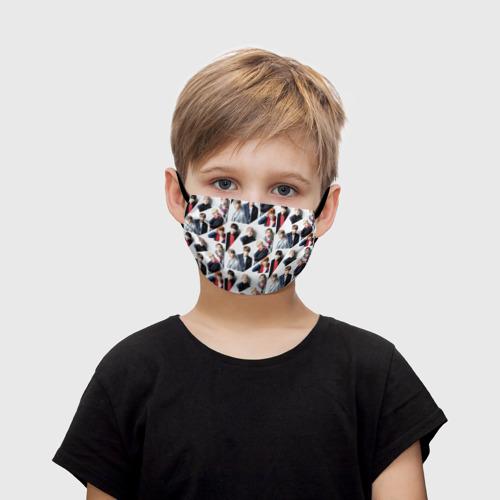 Детская маска (+5 фильтров) BTS Collage Фото 01