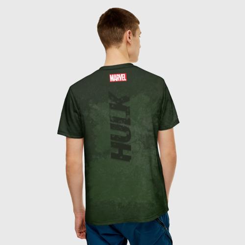 Мужская футболка 3D Hulk comics Фото 01