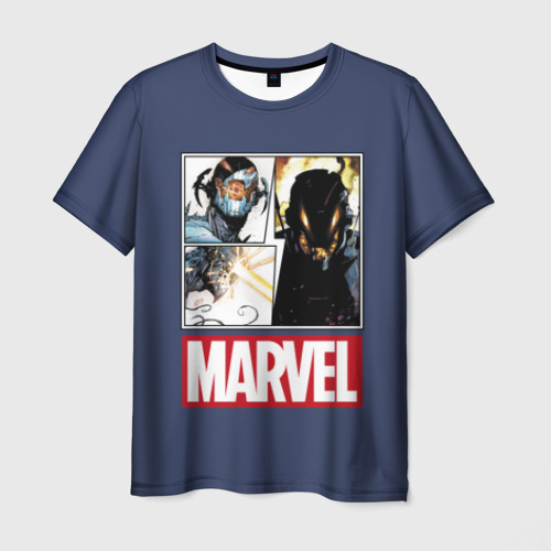Мужская футболка 3D Ultron collage