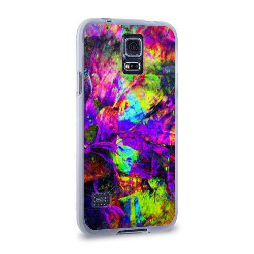 Чехол для Samsung Galaxy S5 силиконовый  Фото 02, Буйство цвета