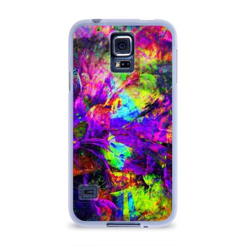 Чехол для Samsung Galaxy S5 силиконовый  Фото 01, Буйство цвета