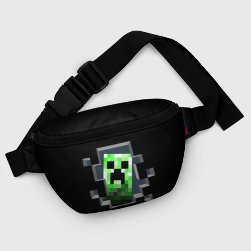 Поясная сумка 3D Майнкрафт, Крипер Фото 01