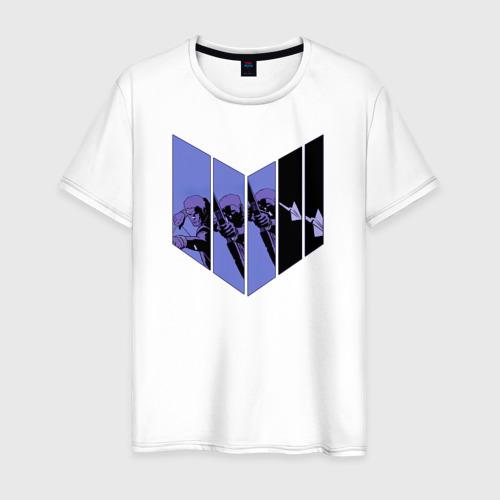 Мужская футболка хлопок Hawkeye
