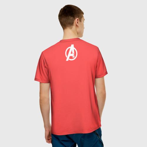 Мужская футболка 3D Мстители Фото 01