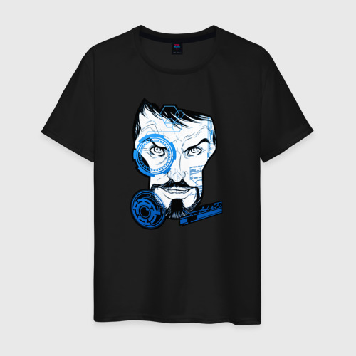 Мужская футболка хлопок Тони Старк
